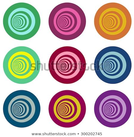 Multiple vortex concentrique différent couleurs Photo stock © Melvin07