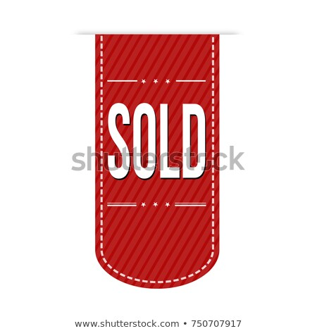 Red bookmarks isolated on white background. Vector illustration Stock photo © netkov1