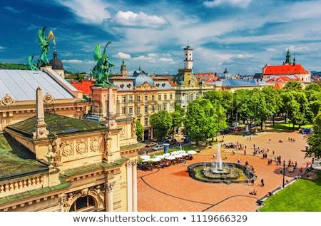 historic center of the city lviv stock photo © oleksandro