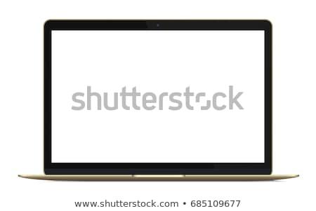 ノートパソコン · ベクトル · アイコン · デザイン · ノートブック - ストックフォト © rizwanali3d