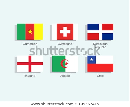 Switzerland and Dominican Republic Flags Stock photo © Istanbul2009