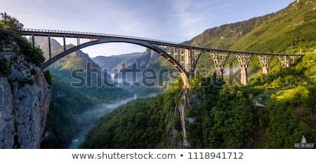 Doğal köprü park nehir gökyüzü Stok fotoğraf © LAMeeks