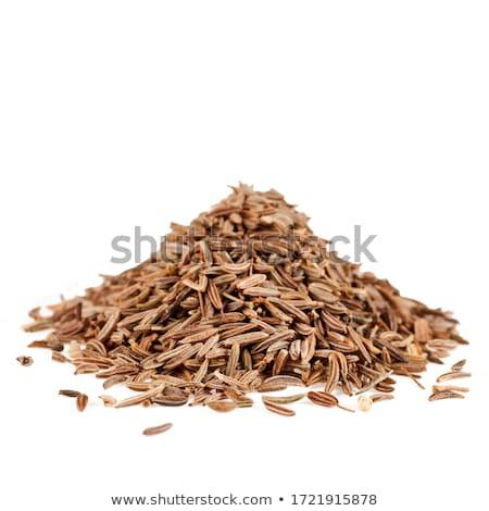 Köteg organikus kömény makró fűszer mikro Stock fotó © ziprashantzi