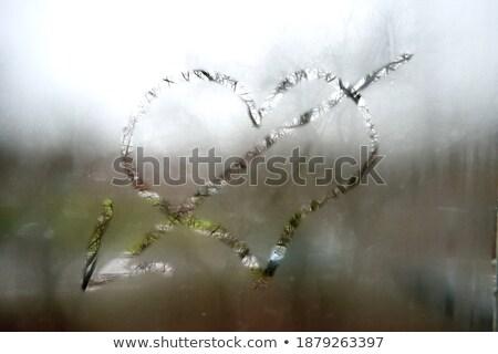 рисунок дерево сердцах весны свадьба Сток-фото © Escander81