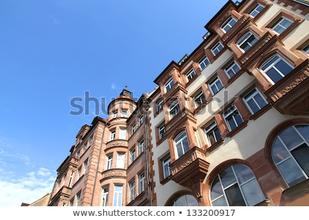 historic buildings in nuremberg stock photo © spectral