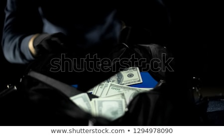 A cash robbery Stock photo © bluering
