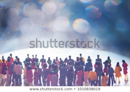 A group of faceless adults Stock photo © bluering