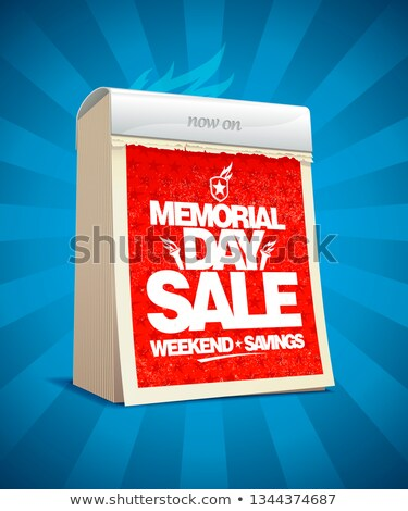 memorial day calendar stock photo © nicemonkey