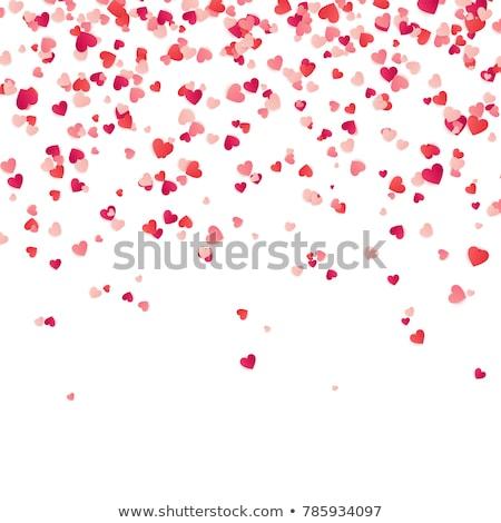 liefde · creatieve · valentijnsdag · foto · paraplu - stockfoto © fisher