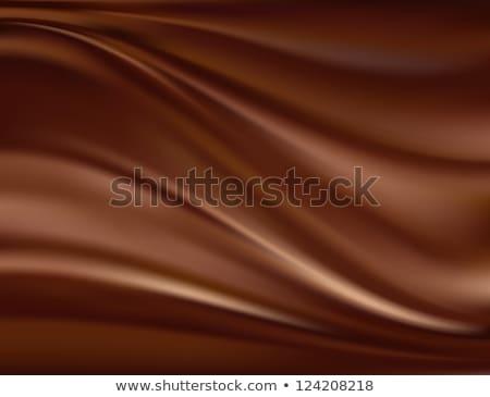 Abstrato chocolate marrom cetim textura comida Foto stock © fresh_5265954