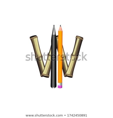 Vektor fa textúra terv természetes sötét klasszikus Stock fotó © articular