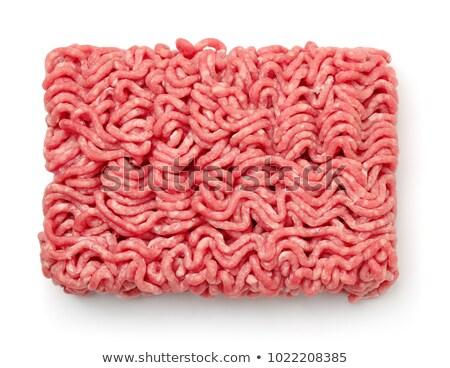 minced meat in studio Stock photo © cynoclub
