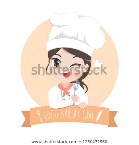 Gelukkig vrouwen chef kok koken keuken Stockfoto © dolgachov