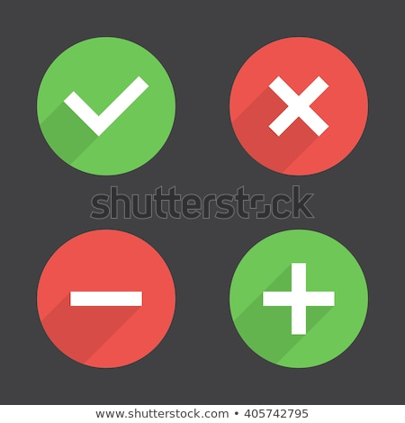 Brightness icon with plus and minus. Vector illustration isolate stock photo © kyryloff