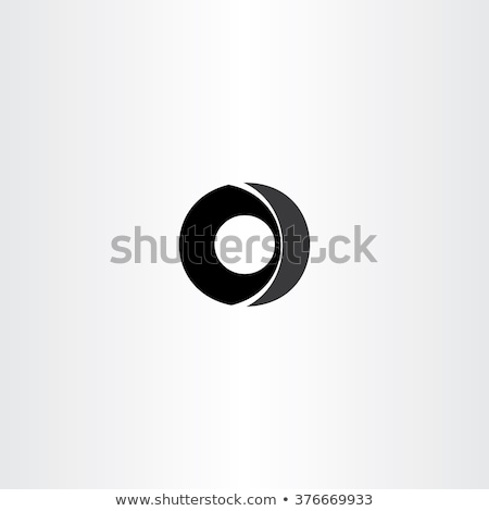 Auto wiel zwarte icon vector Stockfoto © blaskorizov