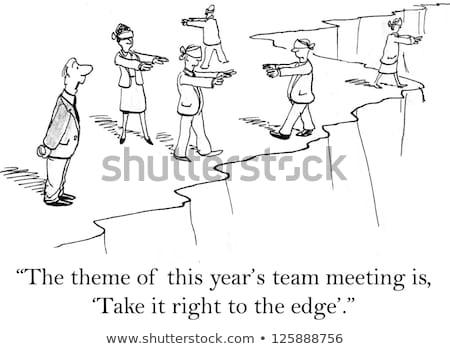 Negocios formación aprendizaje nuevos empresa vector Foto stock © robuart