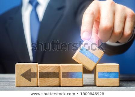 Działalności proces skuteczny strategii wektora Zdjęcia stock © robuart