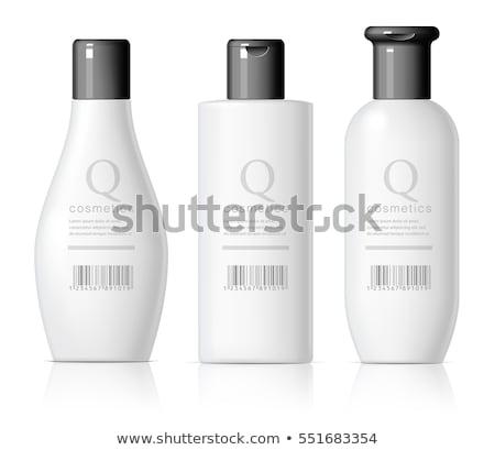lijm · Blauw · fles · illustratie · achtergrond · kunst - stockfoto © pikepicture