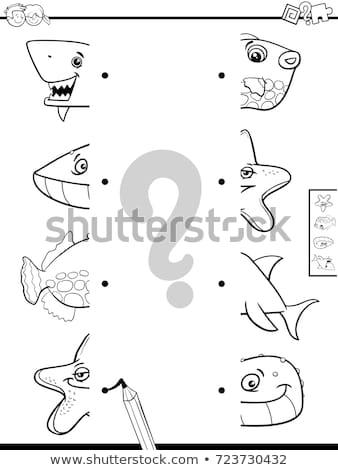 jigsaw puzzles with sea life animals Stock photo © izakowski