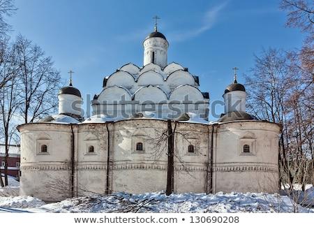 église protection Moscou bâtiment ville croix Photo stock © borisb17