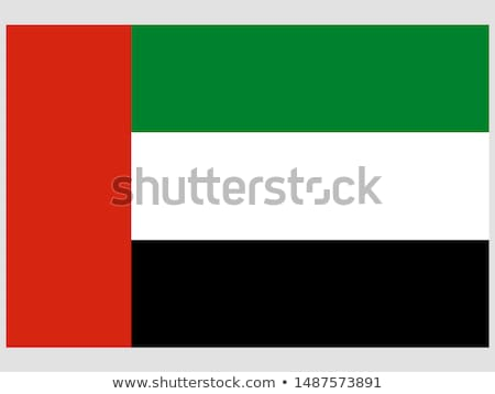 Flag UAE Stock photo © montego
