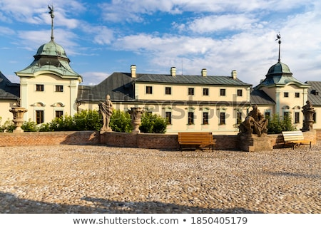castle in Manetin, Czech republic Stock photo © borisb17