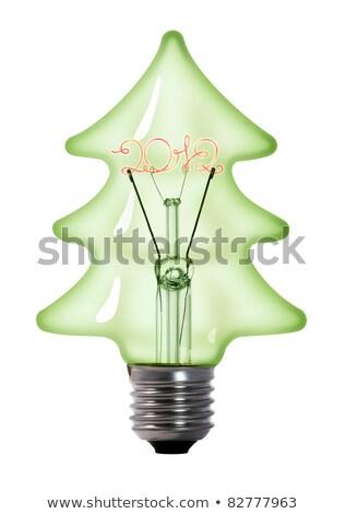 2012 in bulb Stock photo © marinini