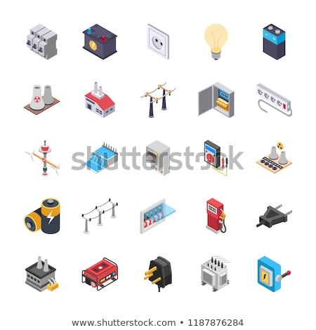 electric circuit breaker set Stock photo © romvo