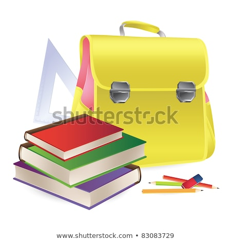 Satchel and School Supplies for Students Lessons Stock photo © robuart