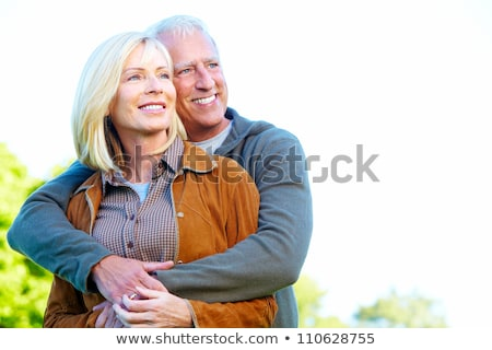 family in forest having fun together Stock photo © Lopolo