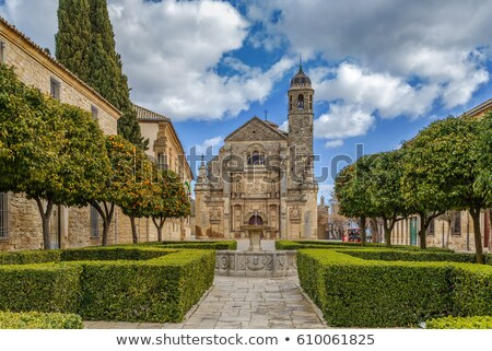 Küçük kilise İspanya bölge Bina güzellik Stok fotoğraf © borisb17