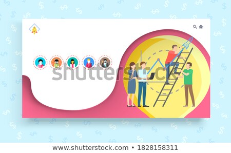 We Bring Great Ideas to Life Business Concept Stock photo © robuart