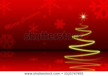 karácsony · cukorka · dekoratív · ünnepi · karácsony · szalag - stock fotó © sarts