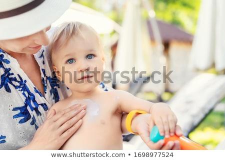 Baby sunscreen cream. Stock photo © antonio_gravante