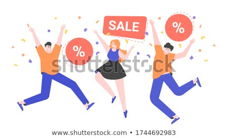 Favorable shopping sale Stock photo © jossdiim