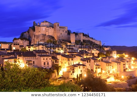 Alquezar, Huesca Province, Aragon, Spain Stock photo © phbcz