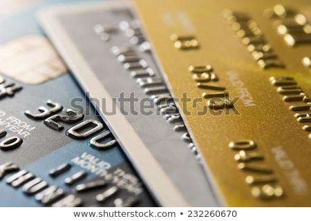 поддельный · кредитные · карты · кредитных · карт · Логотипы - Сток-фото © creisinger