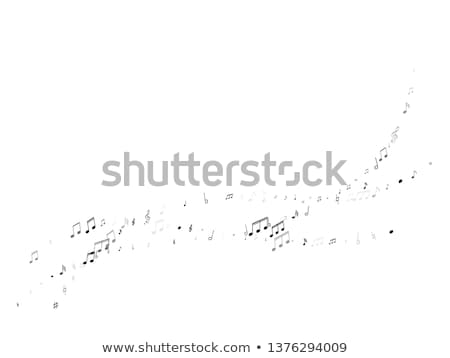 Flying music notes! stock photo © damonshuck