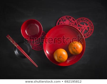 Chinese New Year decoration | Set 2 stock photo © sahua