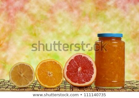 jarra · limão · branco - foto stock © dashapetrenko