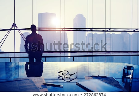 Business man contemplating Stock photo © leeser
