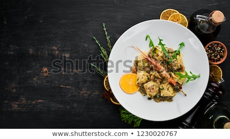 Homemade Ravioli with Shrimps stock photo © Francesco83