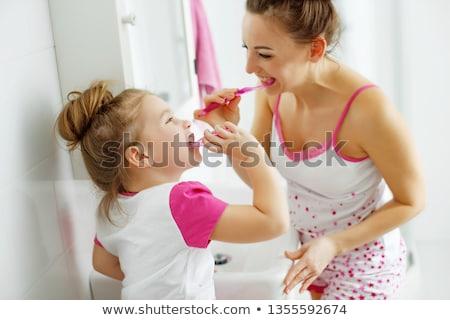 若い女性 美 友達 肖像 シャワー ストックフォト © photography33