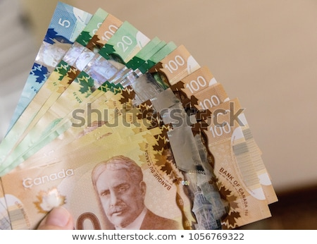 Canadian Currency Stock photo © AlphaBaby