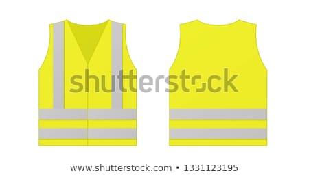 Man wearing high-visibility jacket Stock photo © photography33