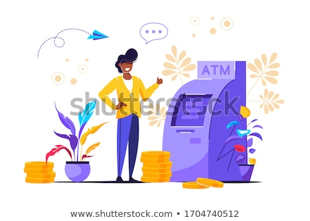 Automatic teller machine  Stock photo © lkeskinen