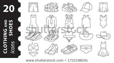 vector pair of shoes stock photo © Dahlia