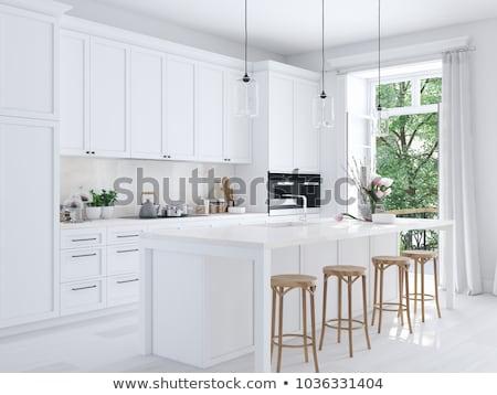 white kitchen stock photo © Paha_L