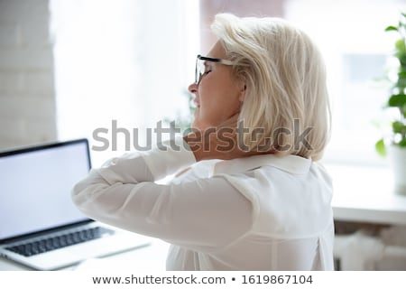 Woman with tensioners Stock photo © photography33