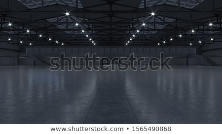 vacío · sala · columnas · ciudad · pared · resumen - foto stock © ciklamen